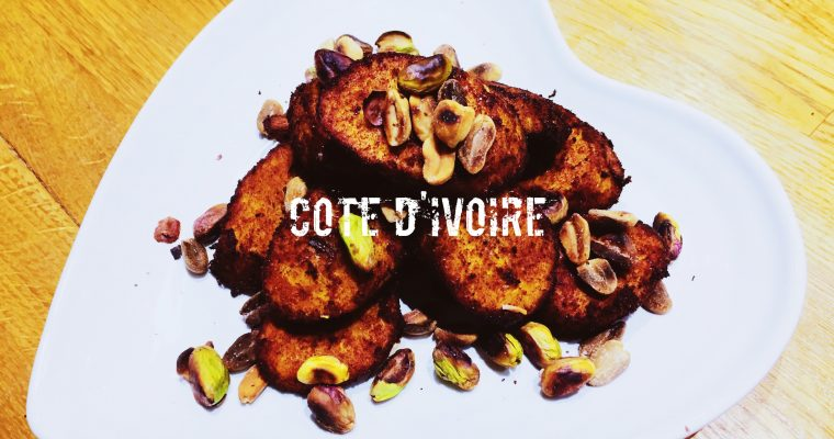 Côte d'Ivoirian fried plantain with roasted nuts   How do you make Alloco or Kelewele   What is the national dish of The Ivory Coast