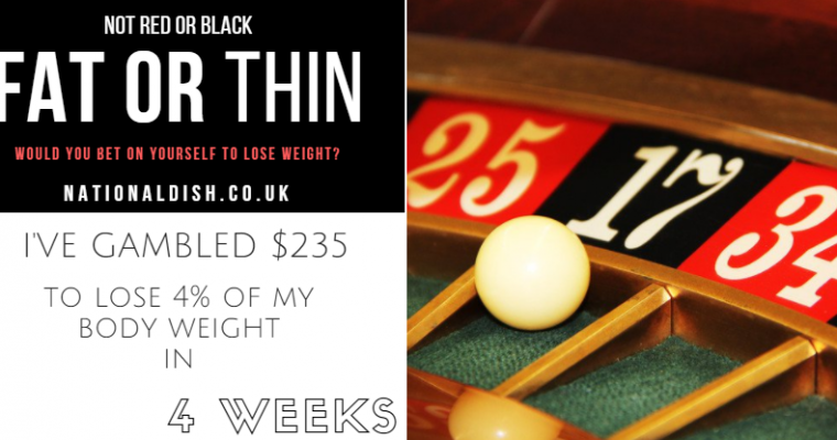Would you bet on yourself to lose weight? | DietBet diary post 1